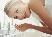 Teen Washing Face