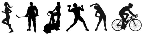 Athletic Silhouettes